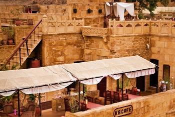 Jaisalmer Hotels Kb Café Restaurant